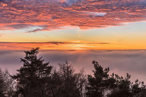 Sonnenaufgang am Rehbergturm