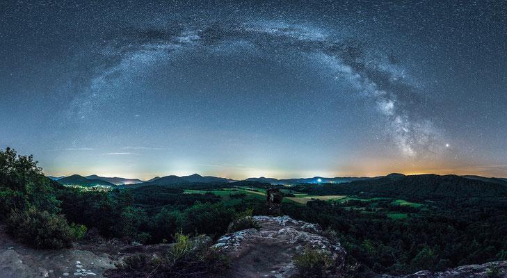 Milchstraße an den Geiersteinen
