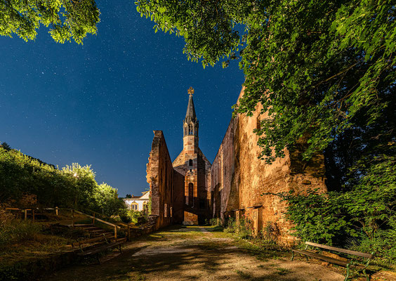 Sternklare Nacht im Kloster Rosenthal