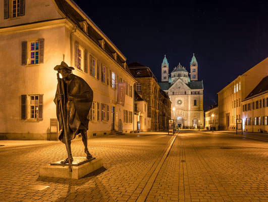 Speyer bei Nacht