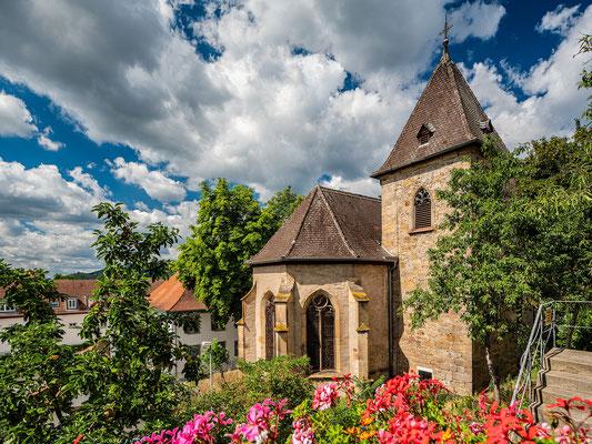 An der Nikolauskapelle in Gimmeldingen