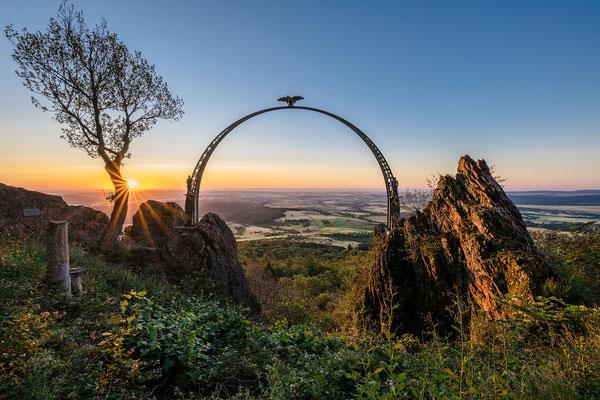Sonnenaufgang am Adlerbogen