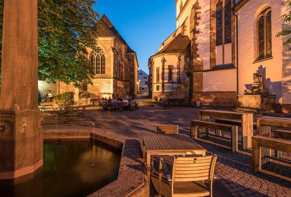 Blaue Stunde in Wachenheim