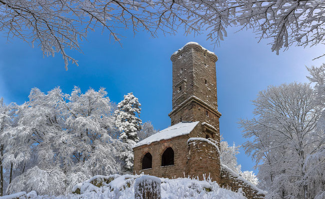 Luitpoldturm im Winterkleid