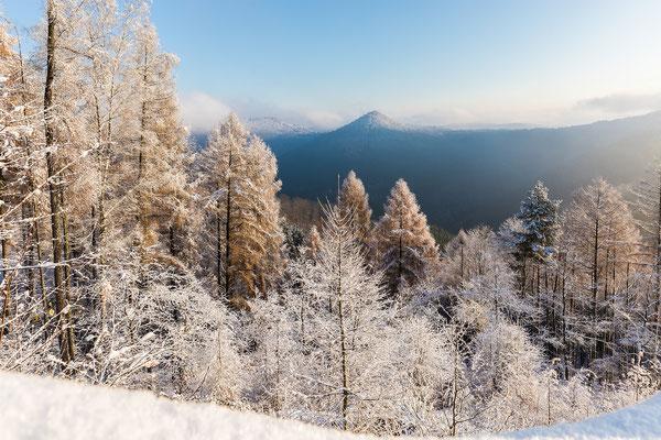 Wintermorgen am Kirschfelsen