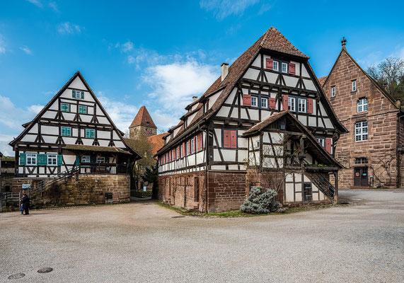 Die Aussenanlagen des Klosters Maulbronn