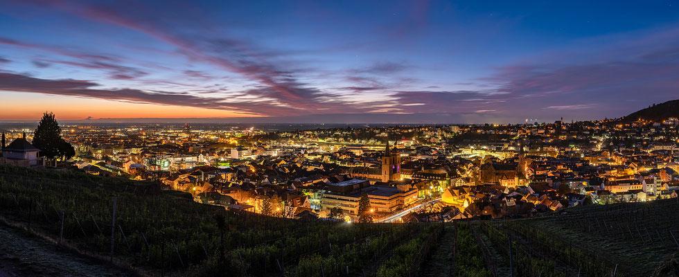 Blaue Stunde über Neustadt