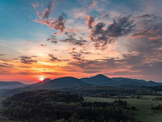 Sonnenaufgang an den Geiersteinen