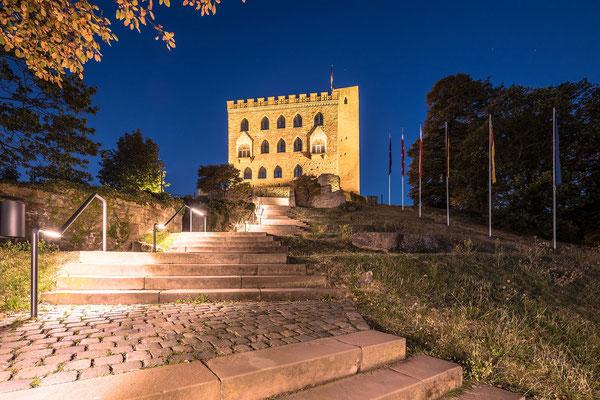 Morgens am Hambacher Schloss