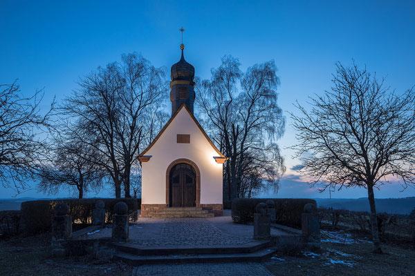 Winterstimmung an der Reifenberger Kapelle