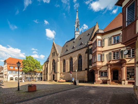 Marktplatz von Bad Bergzabern