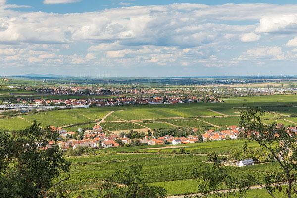 Ausblick von der Burg Battenberg