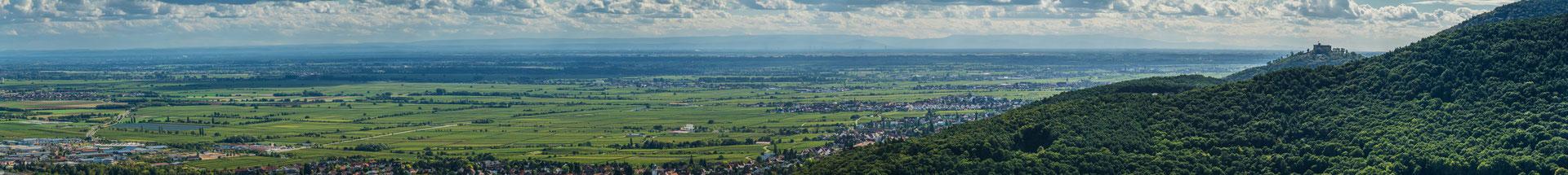 Hambacher Schloss und Schwarzwald