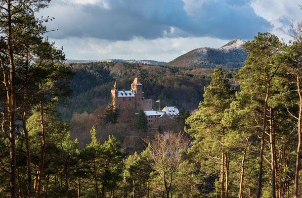 Burg Berwartstein im Winter
