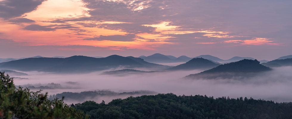 Sonnenaufgang am Buhlsteinpfeiler
