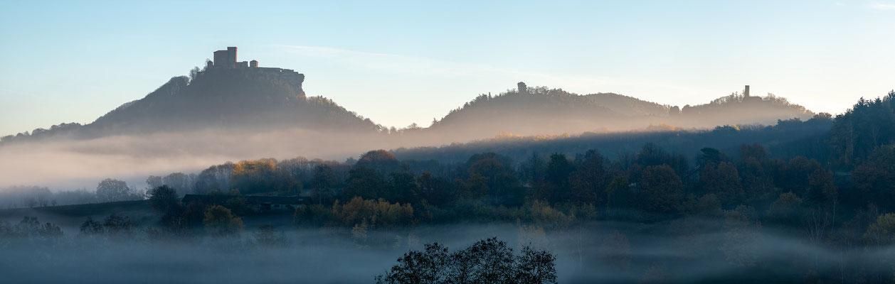 Herbstmorgen bei Annweiler