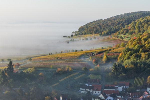 Herbststimmung über Sankt Martin