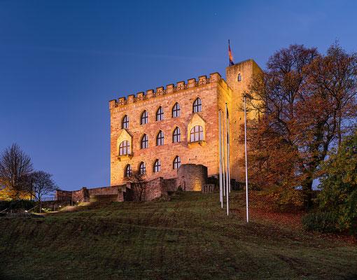 Novembermorgen am Hambacher Schloss