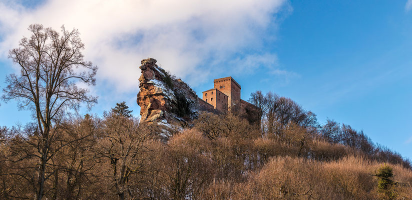 Burg Trifels im Winter