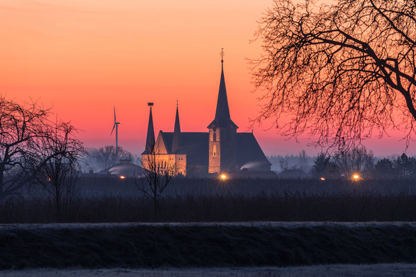 Morgenrot in Geinsheim