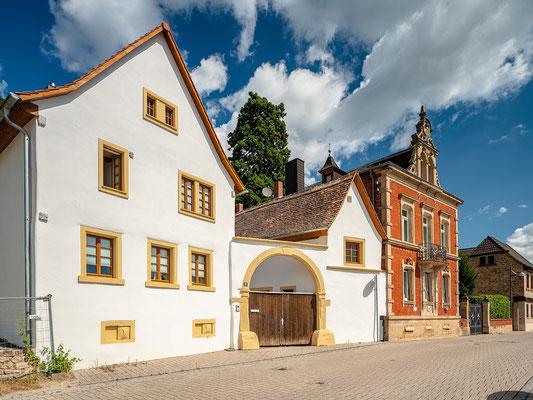 Häuserensemble in Haardt