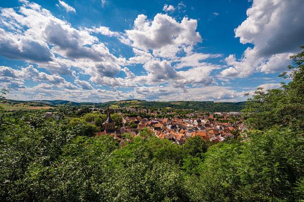 Ausblick auf Meisenheim