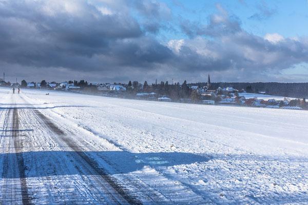 Winterstimmung zwischen Nackterhof und Wattenheim