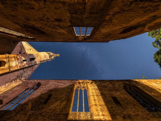 Sternenhimmel im Kloster Rosenthal