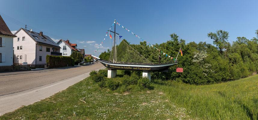 Ortseingang von Neuburg