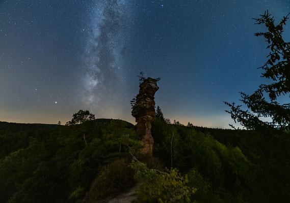 Milchstraße am Lämmerfelsen