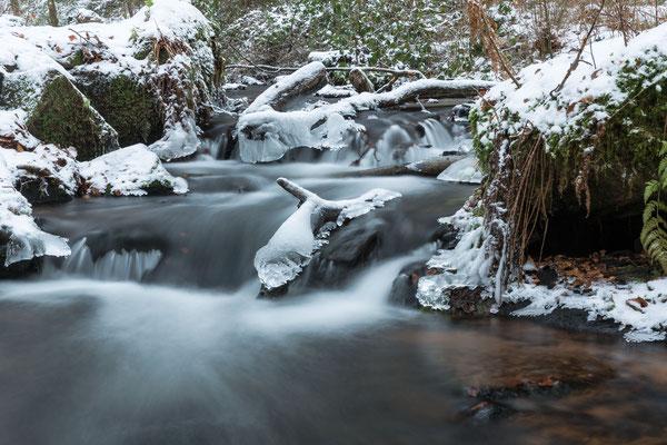 Winterstimmung in der Karlstalschlucht