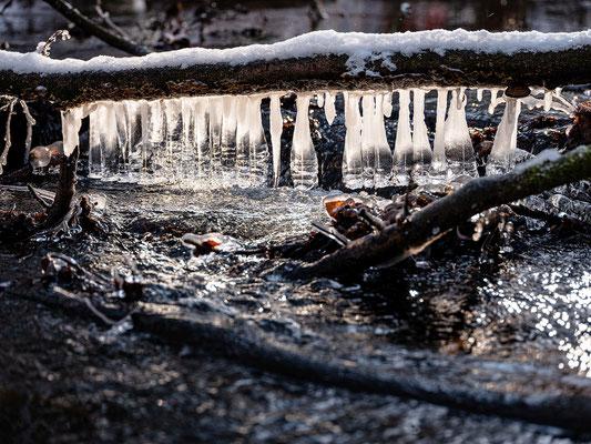 Eiszeit in der Karlstalschlucht