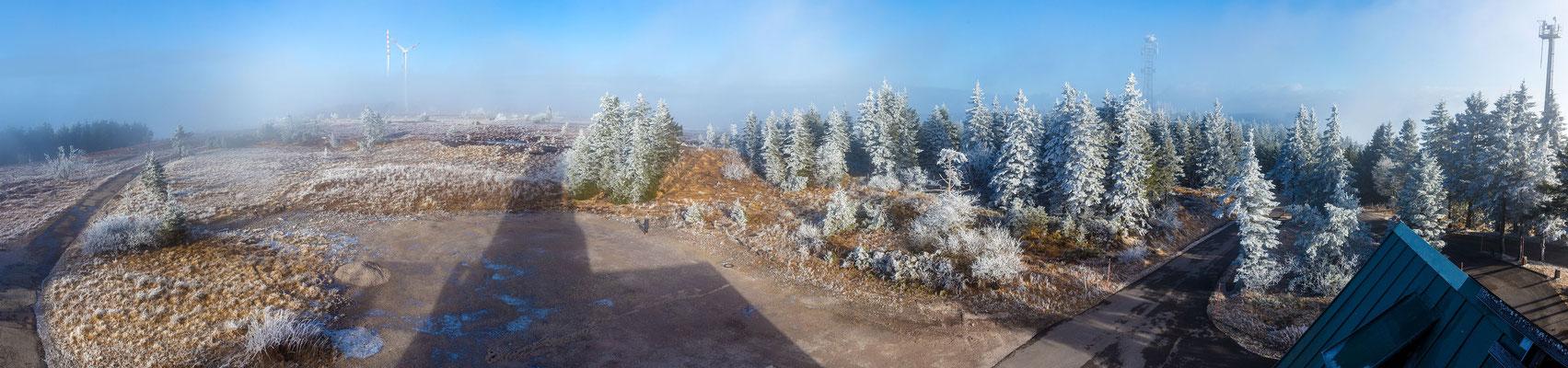Aussicht vom Hornisgrindeturm