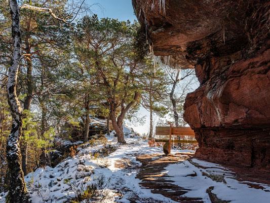 Wintermorgen auf dem Nesselberg