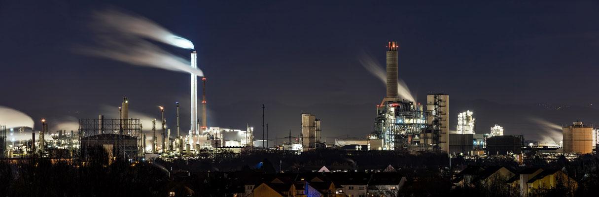 Ausblicke auf die BASF von Frankenthal