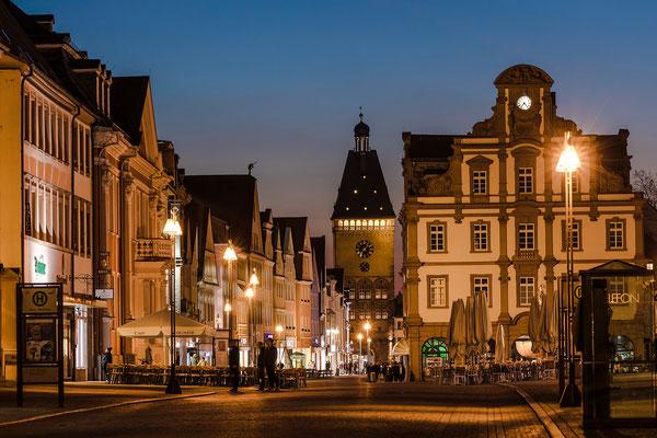 Abendstimmung in der Speyerer Altstadt