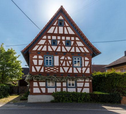 Fachwerkhaus in Neuburg