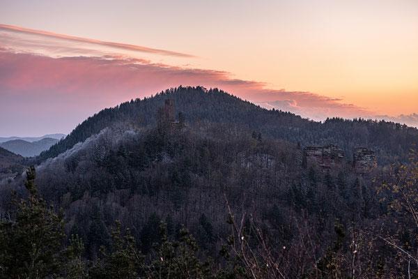 Sonnenuntergang am Wettereck