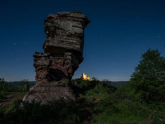 Mondnacht an der Ruine Anebos