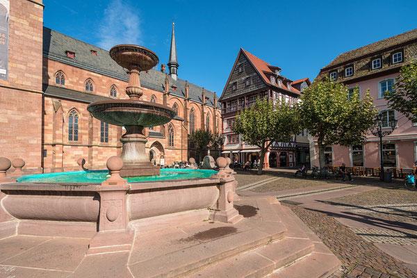 Auf dem Neustadter Marktplatz ....