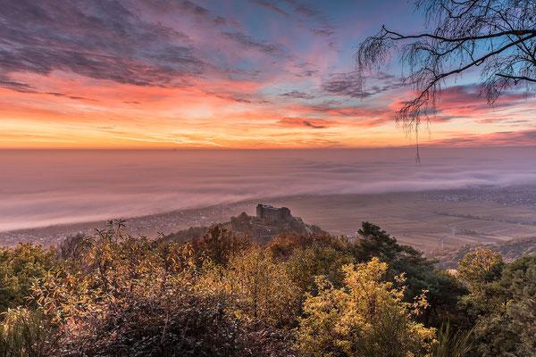Wunderbarer Herbstmorgen am Sühnekreuz
