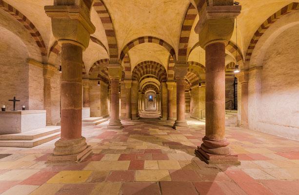 Die Krypta im Speyerer Dom