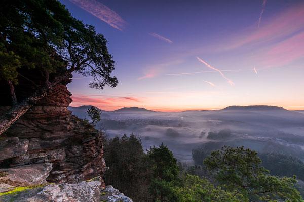 Morgenröte am Dickenbergturm