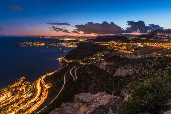 Hoch über der Cote d'Azur