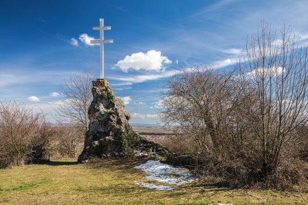 Hahnenböhler Kreuz oberhalb von Forst