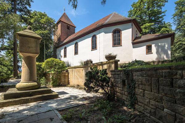Wollmesheim: alteste Kirche der Pfalz von 1014