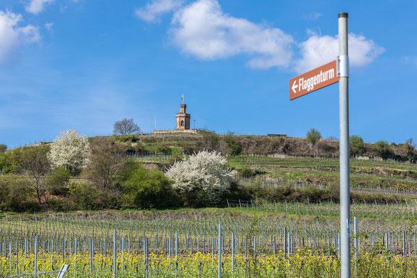Flaggenturm bei Bad Dürkheim