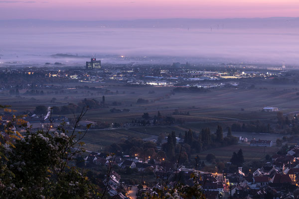 Herbstlicher Tagesbeginn in Neustadt
