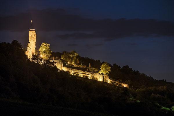 Wachtenburg bei Nacht
