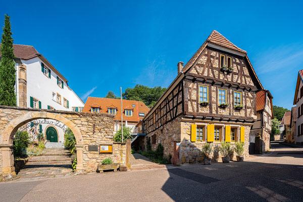 Historische Gebäude in Gleisweiler